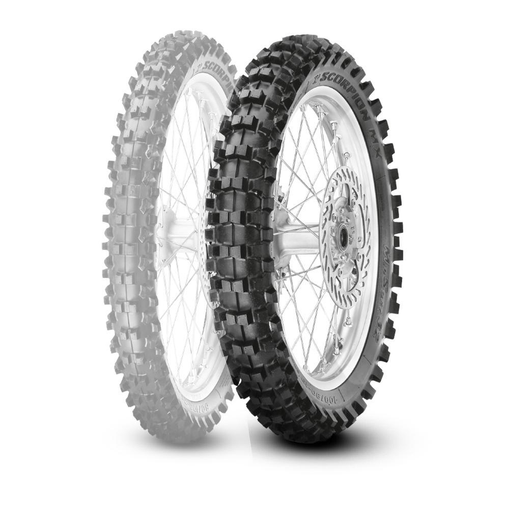 PIRELLI SCORPION MX MID SOFT 32 [2.75-10 37J NHS] SCORPION MX MID SOFT 3