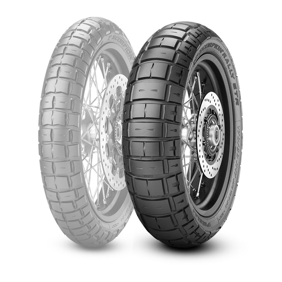 PIRELLI SCORPION RALLY STR [180/55 R17 M/C 73VM+S TL] TIRE