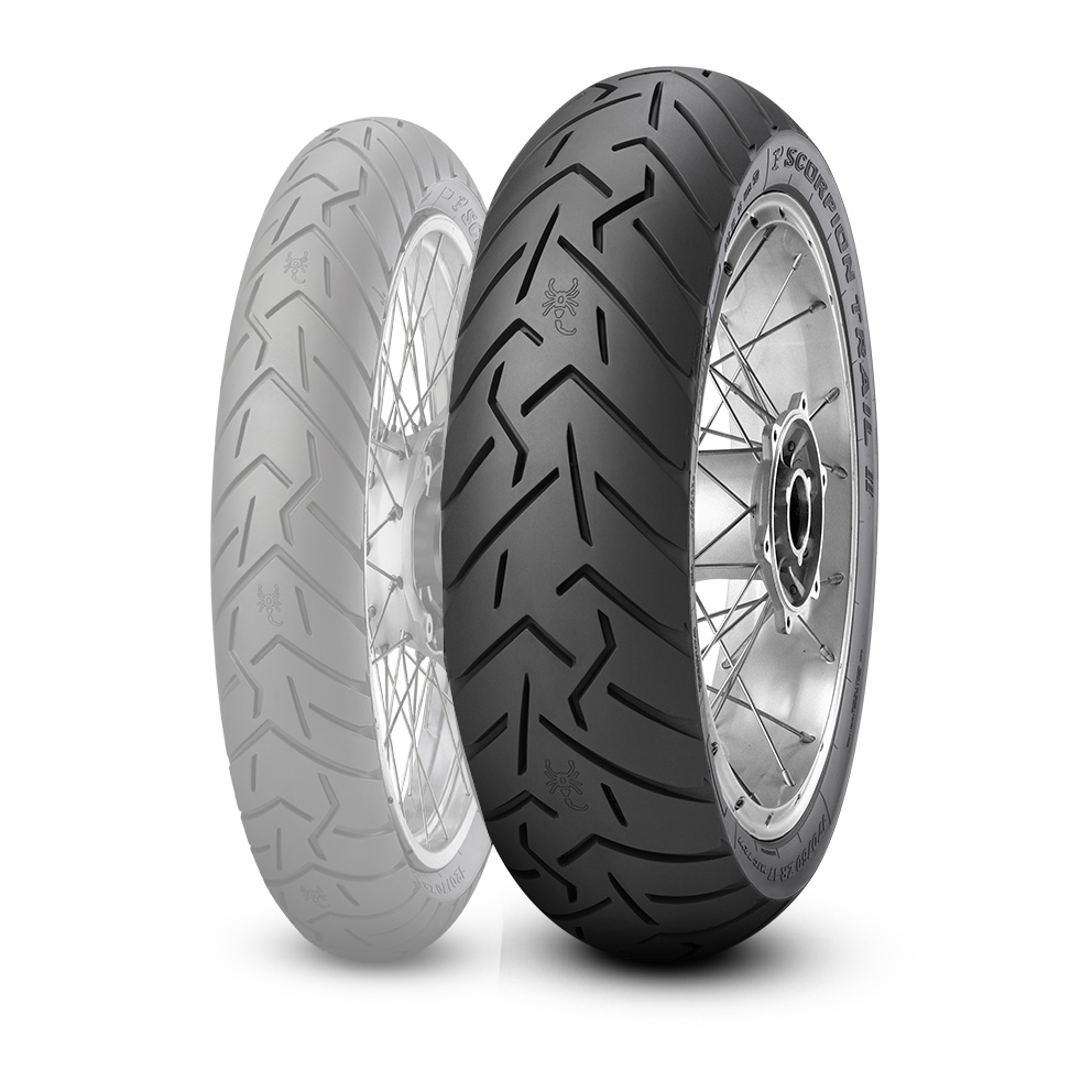 PIRELLI SCORPION TRAIL II [160/60 ZR17 M/C (69W) TL] TIRE