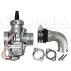 Mikuni Made VM 24 Carburetor & Adjustable Manifold Set