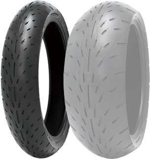 SHINKO F003 [120/60ZR17 M/C 55W U-SOFT TL] Tire