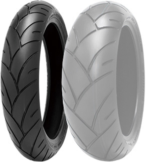 SHINKO F005 ADVANCE [120 / 70-21 M / C (62V) TL] Band