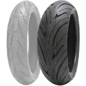 SHINKO 016 VERGE 2X [190/55zr17 M/C(75W)] Tire