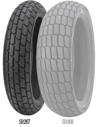 SHINKO SR267 SOFT [120 / 70-17 59M T / L] إطار العجلة