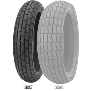 SHINKO SR267 SOFT [120/70-17 59M T/L] Tire