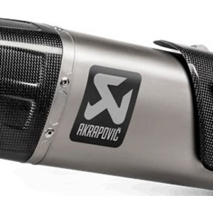 AKRAPOVIC Aluminum Heat Resistance Sticker Vertical
