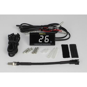 SP TAKEGAWA (Special Parts TAKEGAWA) Compact LED Thermometer Set with M5 Temperature Sensor