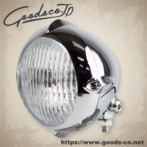 GOODS 4-inches Vintage Style Rib Headlight