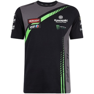 KAWASAKI KAWASAKI Racing Team World Super bike T-shirt