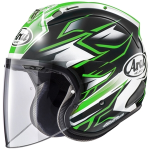 Arai VZ - Ram GHOST [Buizet Lamb GHOST 668 Green Light ] Helmet