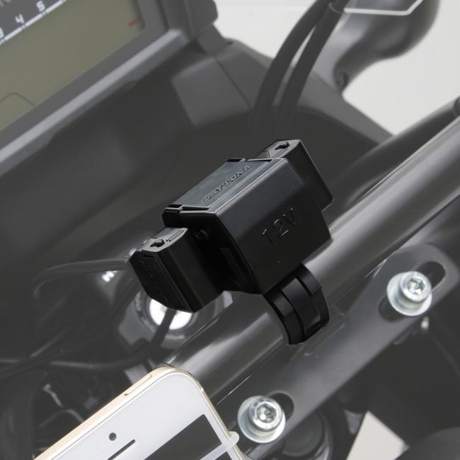【DAYTONA】機車電源 (USB 2 Port +Cigar 1 Port) - 「Webike-摩托百貨」
