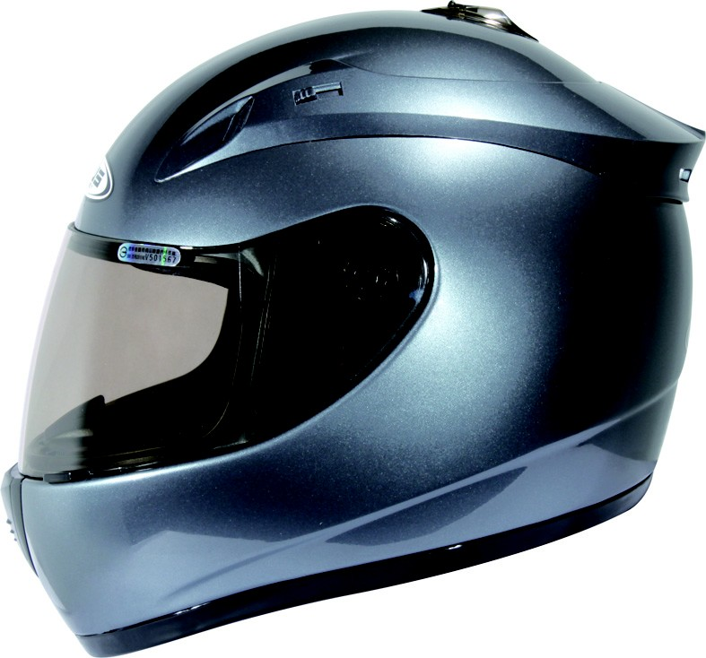ZEUS   ZS-801 Full Face Helmelt (New Iron Grey)  ZS-801-GY-S  edcf51bbd43fa