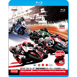 WiCK 2018 Coca-Cola Suzuka 8-hours Endurance Road Race Official Blu-ray