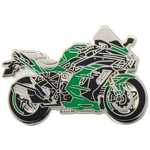 KAWASAKI Pin Badge (NINJA H2 SX)