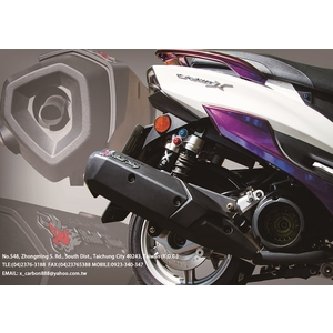 Bull King Exhaust Exhaust System with Heat Shield