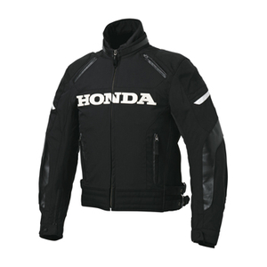 HONDA RIDING GEAR Black Storm Riders Jacket