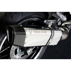 TRICK STAR Racing Slip-on Silencer IKAZUCHI