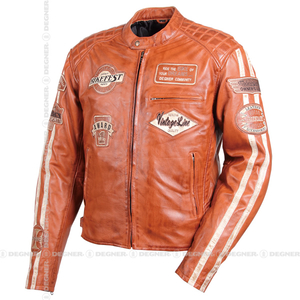 DEGNER Wax Sheep Leather Jacket