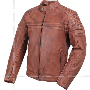 DEGNER Old Finish Leather Jacket