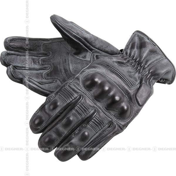 DEGNER Wax Leather Gloves