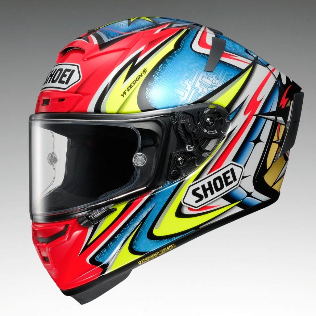 X-14 DAIJIRO [TC-1 RED/BLUE] Helmet