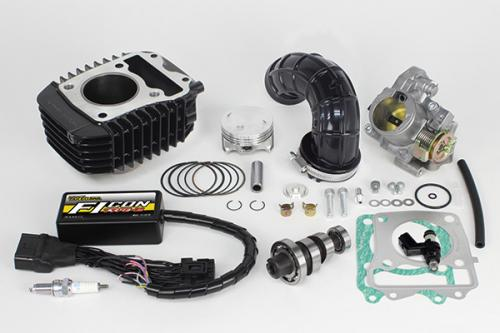 SP TAKEGAWA (Special Parts TAKEGAWA) Hyperestagen 20 Bore Up Kit 143 Cc ( Big Throttle Body Included)