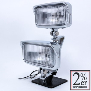 2%er Dual Light Kit Vintage Style Square Headlight