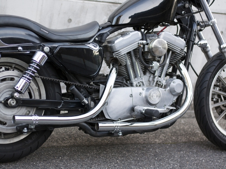 Old Style Hand Bent Exhaust System