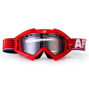 ariete Riding Crows Flow [Asian Fit] Double Lens Eyeglasses Off-road Goggles