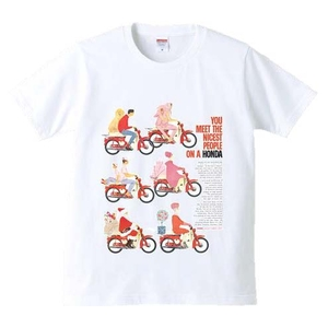 HONDA RIDING GEAR Nisest/PEOPLE T - Shirt