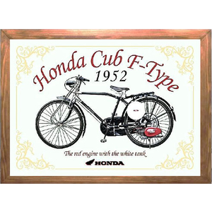 HONDA RIDING GEAR CUB F Type Pub Mirror