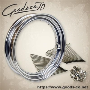 GOODS 16-inch Kit Steel Spoke Rear