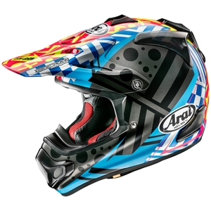 Arai V - CROSS 4 BARCIA 2 [VCROSS 4 Versia 2] CASCO