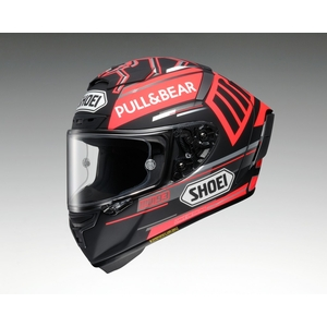 SHOEI X-14 MARQUEZ BLACK CONCEPT TC-1 RED/BLACK Helmet