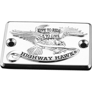 HIGHWAY HAWK Mastercylindercover Live to Ride