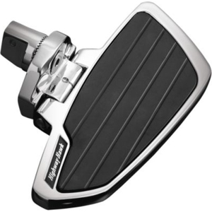 HIGHWAY HAWK Floorboards Set Smooth Rider boards Chrome