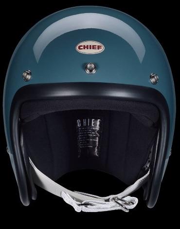 Chief Helmet   Chief Helmet 500-TX Jet Hjälm  500-TX-BL-S  23958bf3ea7ae