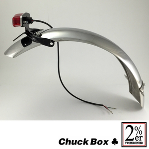 2%er [CHUCK BOX] Rear Loop Frame Short Fender