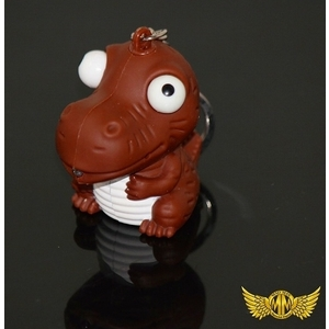 MADMAX Barking Dinosaurs Key Holder with LED