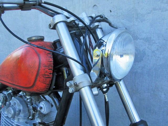 2%er Old Bates Type Side Mount Headlight Kit II