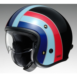 SHOEI [Accepting Reservation bull;Scheduled To Be Released In March 2019] J/O Nostalgia TC-10 BLACK/BLUE Helmet