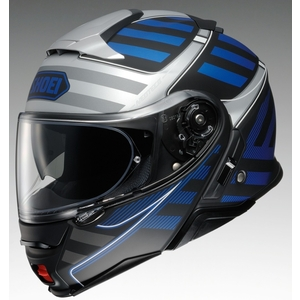 SHOEI NEOTECII SPLICER [TC-2 BLUE/BLACK] Helmet