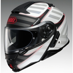 SHOEI NEOTECII SPLICER [TC-6 WHITE/BLACK] Helmet