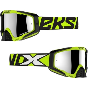 X Brand EKS - S ( X/S) Goggles Tear - Off Film/Clear With Lens