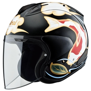 Arai VZ-RAM [Colored Carp Black] Helmet