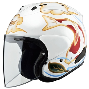 Arai VZ-RAM [Colored Carp White] Helmet