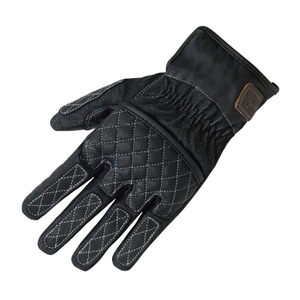 ROUGH&ROAD Leather&denimgloves