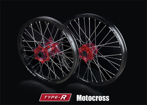 TGR RACING WHEEL TYPE-R Motocross Wheel (Front and Rear Set)