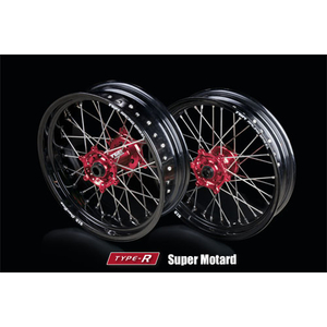 TGR RACING WHEEL TYPE - R Motard (MOTARD) For hjul (Fsingle Body)