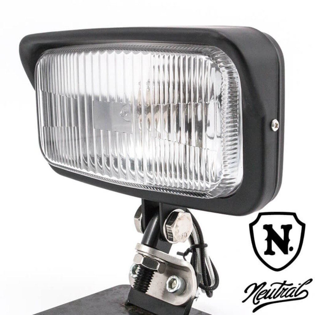 [NEUTRAL] Vintage Style Square Headlight